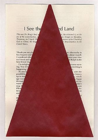 i see the promised land (after the rev. dr. m. l. king, jr.) by tim rollins and k.o.s.