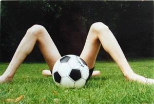 football by boris mikhailov