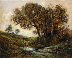 chêne en forêt de fontainebleau by théodore rousseau