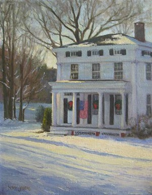 winter light by susan jositas (sold)