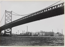 delaware bridge, philadelphia by umbo (otto umbehr)