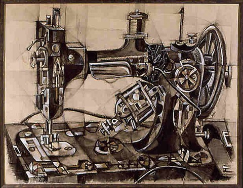 sewing machine by charles snyder