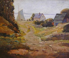 summer day, rockport by anthony thieme