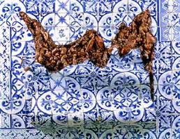 azulejaria 'de tapete em carne viva' by adriana varejão