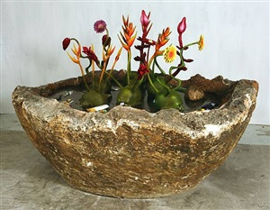 flower pot by ashley bickerton