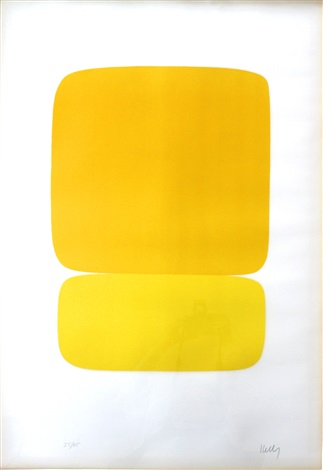 yellow over yellow by ellsworth kelly