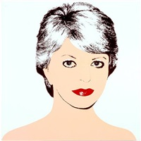 mrs. pritzker by andy warhol