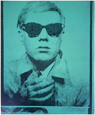 self portrait by andy warhol
