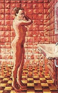 in front of the mirror (vor dem spiegel) by hermann albert