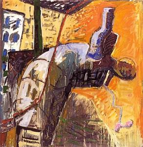 große kunst - ausstellung auf der messe 4. berliner kunstsalon 2007 by peter chevalier