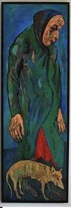 old woman (alte frau) by maxim karlovitch kantor
