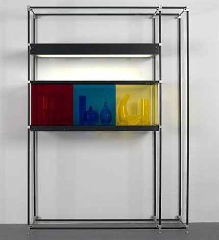 chromatic modernism (red, blue, yellow) by josiah mcelheny