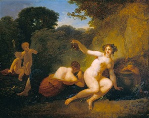 venus and cupid by jacques antoine vallin