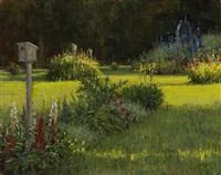 dona's yard by carol jenkins