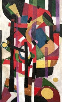 composition, 1950 by oscar jacques gauthier