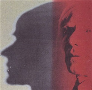 the shadow by andy warhol