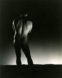 male nude back view by george platt lynes