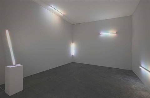 installation view (shadows after atjet) by spencer finch