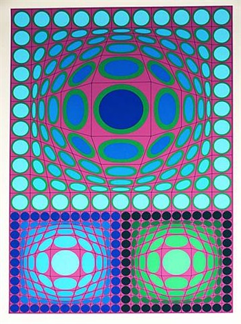 tri-vega by victor vasarely