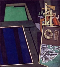 nature morte évangélique by giorgio de chirico