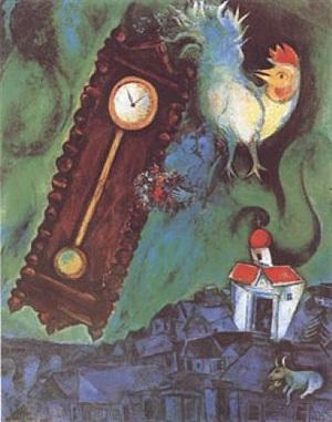 le matin du monde by marc chagall