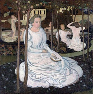 le verger des vierges sages by maurice denis
