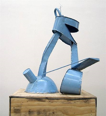 untitled (blue) by thomas kiesewetter
