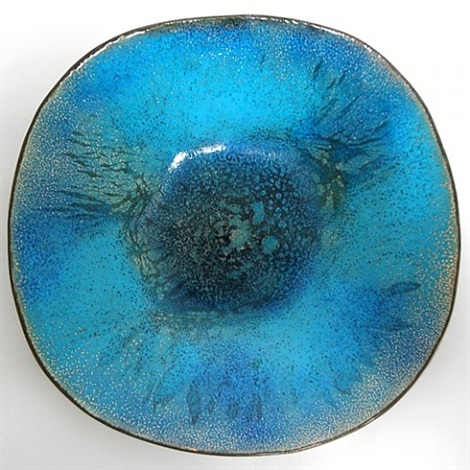 enamel bowl by paolo de poli