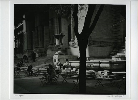 ny public library (from the manhattan series) by ilya askinazi