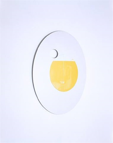 ellipsoid flywheel mirror by olafur eliasson