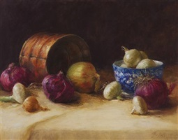 beauty of onions (sold) by stephanie birdsall