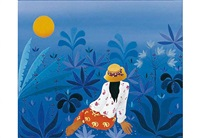 mujer sentada de gauguin by maría teresa bobbio