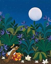 nocturno de gauguin by maría teresa bobbio