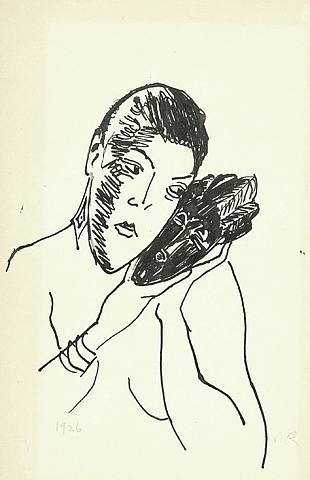 Kiki de Montparnasse Alice Prin with Baoule Mask by Man Ray on artnet