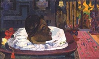 ari matamoe, la fin royale by paul gauguin