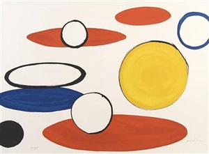 untitled (circles) by alexander calder