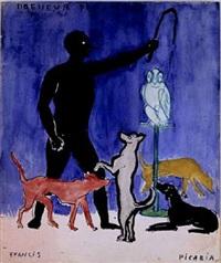 dresseur de chiens by francis picabia