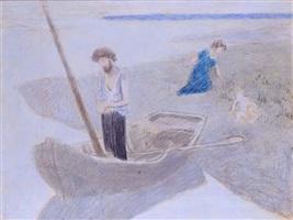 etude pour le pauvre pêcheur by pierre puvis de chavannes
