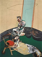 portrait of george dyer staring at blind cord by francis bacon