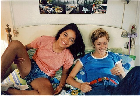 kids kids (chloe and julie on bed) by larry clark