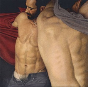 changing room iii by michael leonard