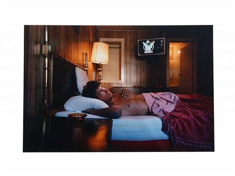 """mike, 26 years old, ?, 30$ """"hustlers"""" by philip-lorca dicorcia"""