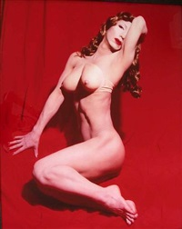 self-portrait (actress) red marilyn by yasumasa morimura