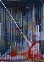 untitled (lens painting) by sigmar polke