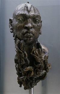 cabeza de hombre barbudo 6 by javier marin