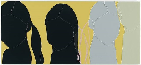 four ponytails by gary hume