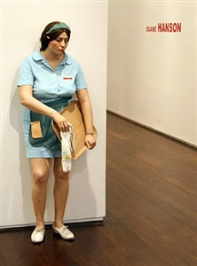 duane hanson - thru june 20th, chelsea location by duane hanson