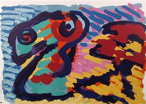 untitled - 3 by karel appel