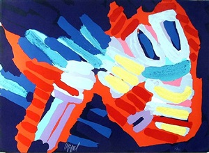 untitled 23 by karel appel