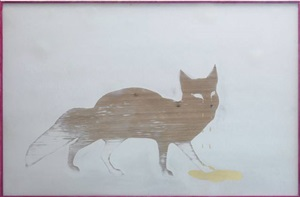 untitled (fox) by robert elfgen